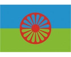 vlajka ROMSKÁ