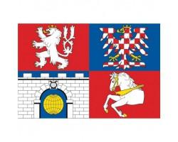 stolní vlaječka  PARDUBICKÝ...