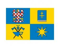 stolní vlaječka  ZLÍNSKÝ KRAJ