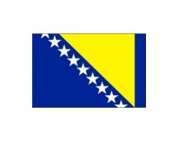 vlaječka BOSNA a HERCEGOVINA