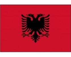 vlajka ALBÁNIE