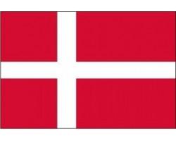 vlajka DÁNSKO - stát EU