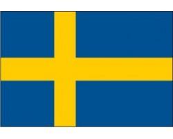 vlajka ŠVÉDSKO - stát EU