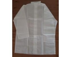 ochranný plášť bílý